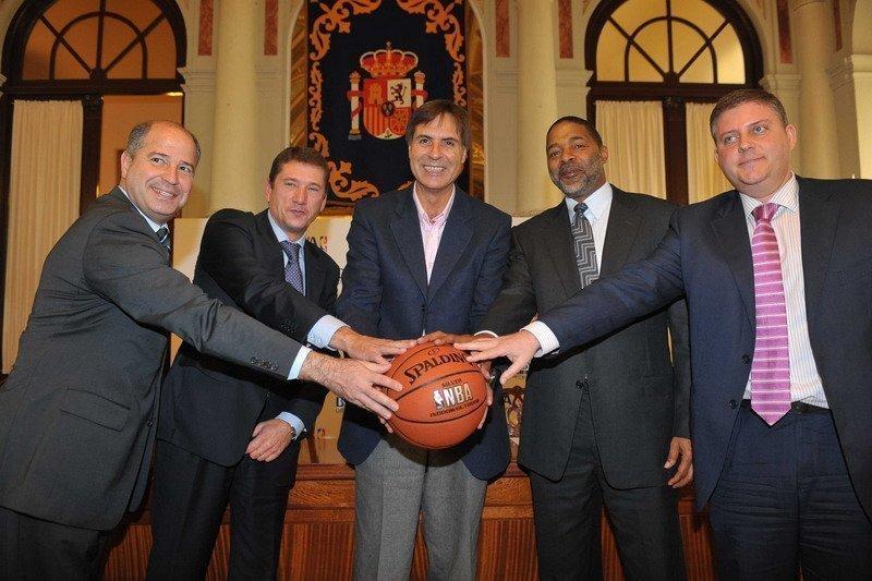 PRESENTACIÓN DE LA NBA-BBVA EXPERIENCE ON TOUR EN MÁLAGA