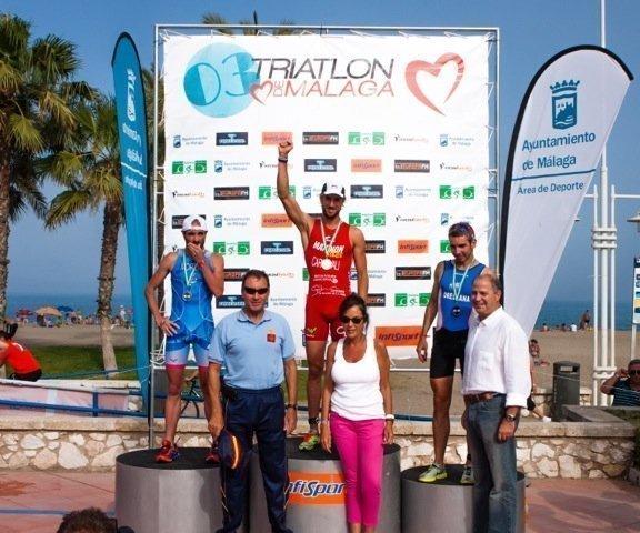 Podium Masculino Triatlon de Malaga12