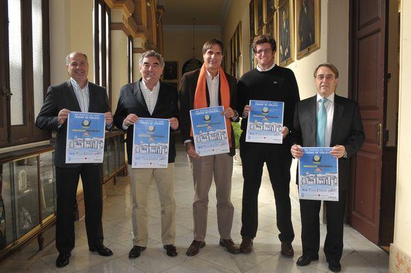 PRESENTACIÓN DEL XVI TROFEO DE GOLF CIUDAD DE MÁLAGA 2012 02