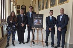 PRESENTACIÓN DE LA EXPOSICIÓN FOTOGRÁFICA SUEÑO CHAMPIONS QUE SE INAUGURARÁ EN CALLE LARIOS