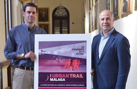 PRESENTACION DE LA CARRERA NOCTURNA URBAN TRAIL MALAGA 2014 03