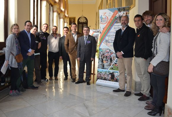 presentacion III fiesta deporte malaga
