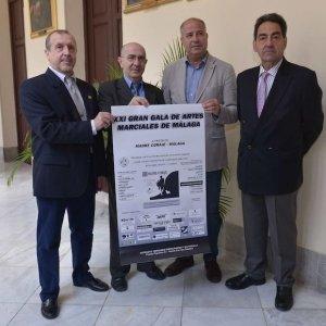 PRESENTACION DE LA XX GALA DE ARTES MARCIALES DE LA ASOCIACION AMAKO