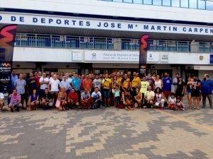 presentacion entrenamientos maraton cabberty malaga
