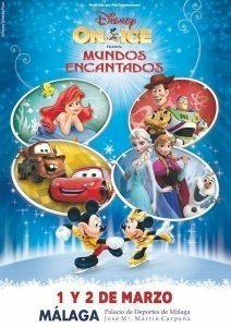 DISNEY ON ICE MALAGA 2016