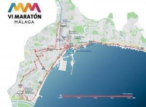 Mapa recorrido Malaga alta