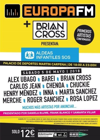 Cartel Brian Cross con Aldeas Infantiles copia