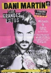 Dani Martín 2018 Málaga copia